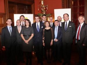 Vorstand Amtliche Spanische Handelskammer für Deutschland am 10. Dezember 2014