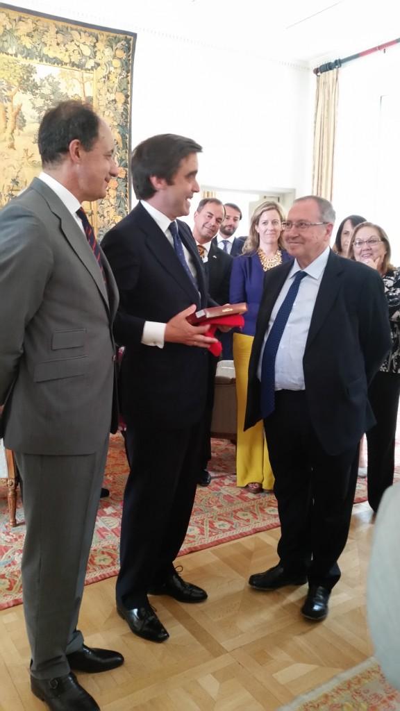 José Luis Bonet nahm in Berlin den Kammerpreis der Amtlichen Spanischen Handelskammer für Deutschland entgegen