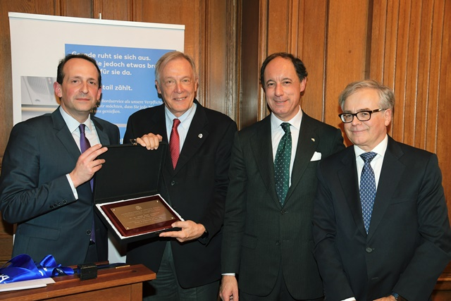 v.l.n.r. Dr. Pierre Dominique Prümm, Álvaro Middelmann, Juan José de Vicente Caballero, Alvaro Trejo