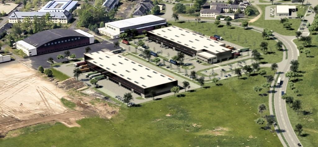 Animation Bau- und Immobilienverwaltung Fäth - Logistik-Neubau in 63526 Erlensee
