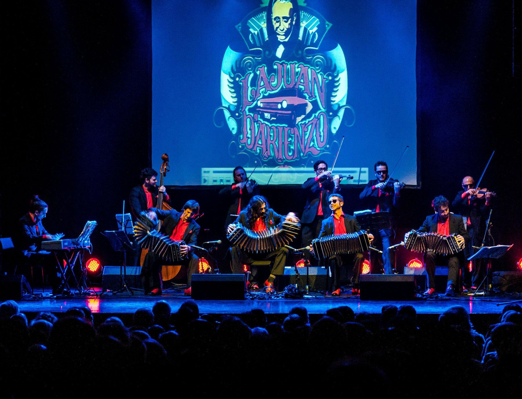 Orquesta La Juan D'Arienzo – Live im Instituto Cervantes Frankfurt