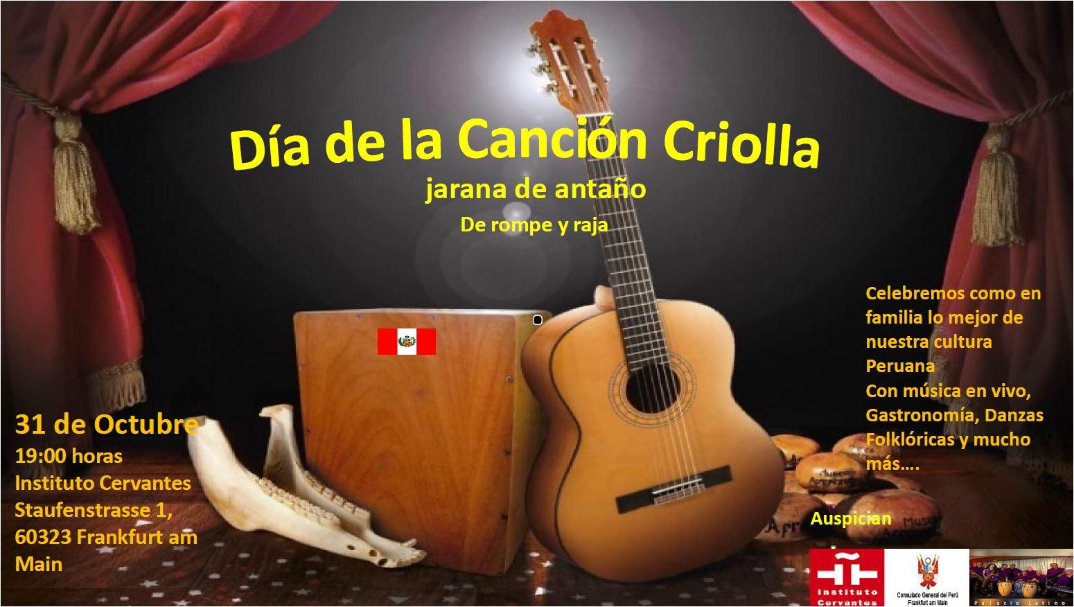 Tag der traditionellen peruanischen Musik im Instituto Cervantes Frankfurt
