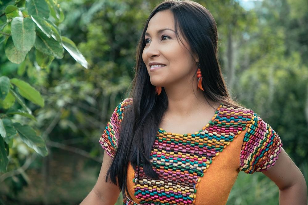 Die kolumbianische Sängerin Niyireth Alarcón. Fotografin Adelia Agzamova