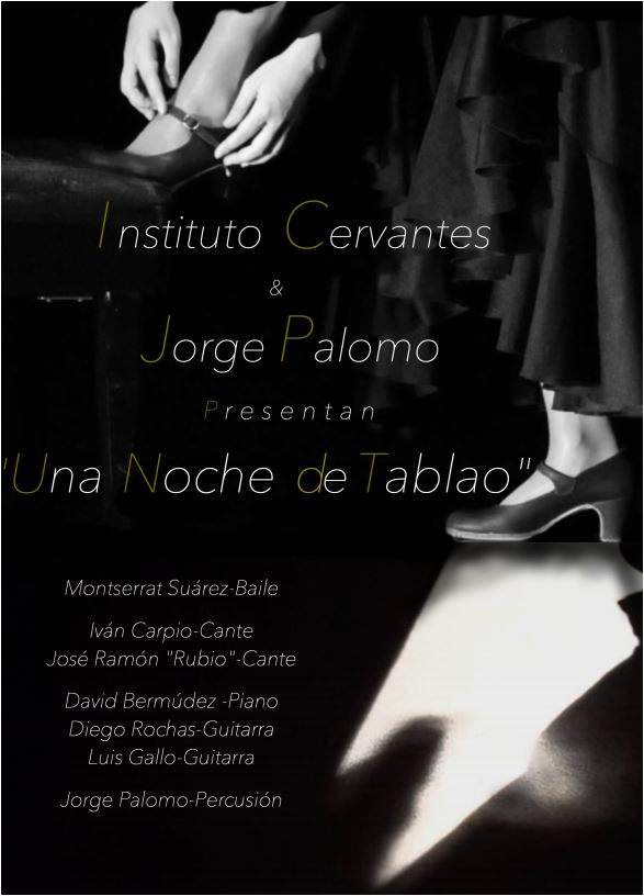 "Flamenco: ""Una Noche de Tablao"" im Instituto Cervantes Frankfurt"