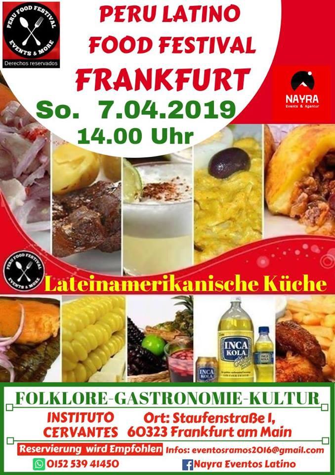 Peru Latino Food Festival im Instituto Cervantes Frankfurt